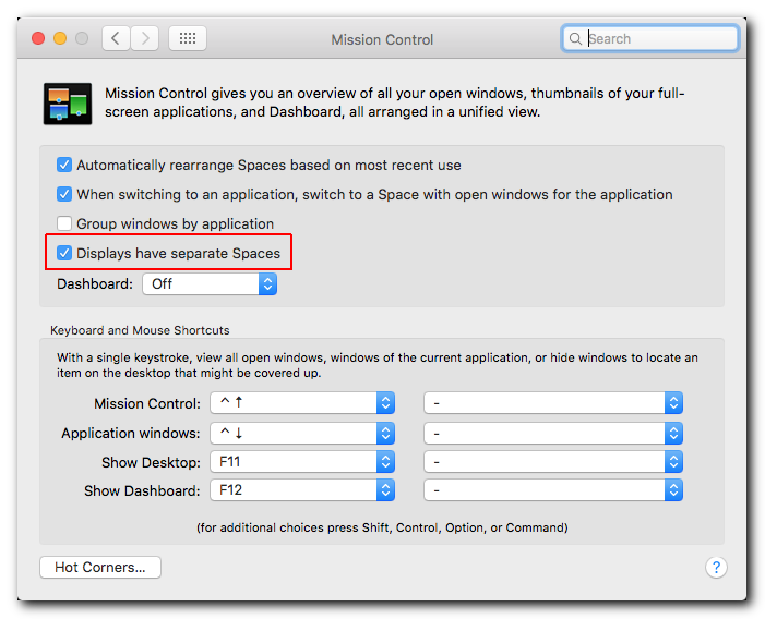 Mac: How to span windows across multiple displays – Steinberg Support