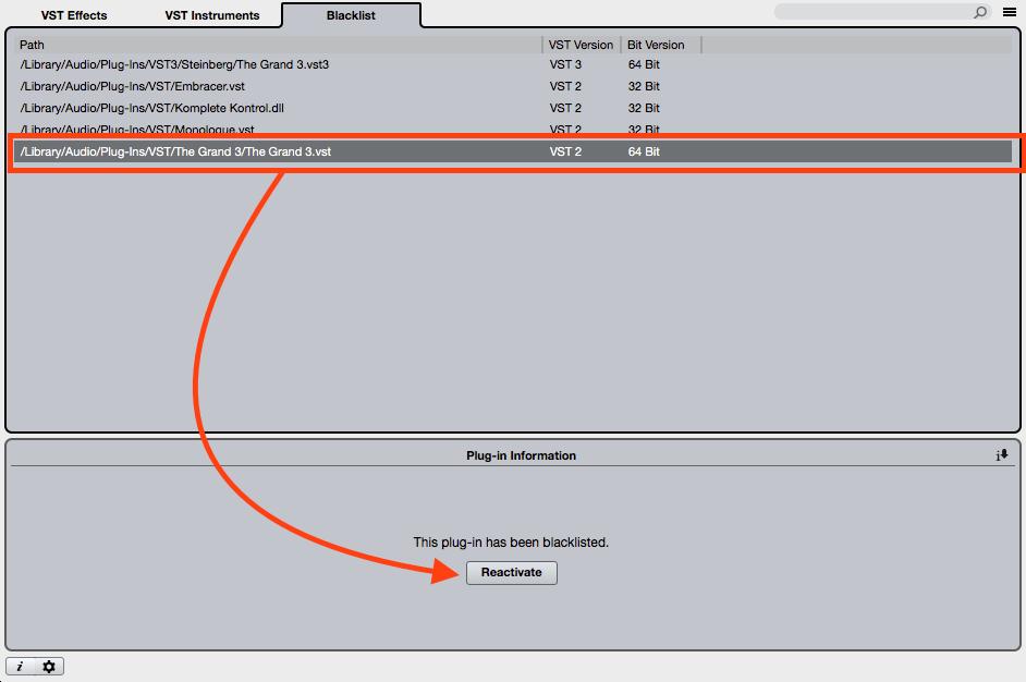 does cubase 9 support 32 bit plugins